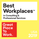 Best Place To Work in Consulting and Professional Services