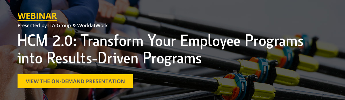 HCM 2.0: Transform Your Employee Programs into Results-Driven Programs