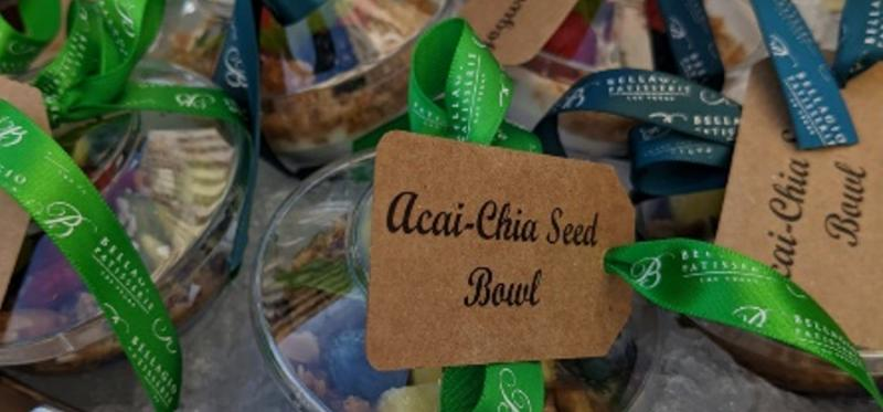 plant-based-food catering trend self-serve chia bowls