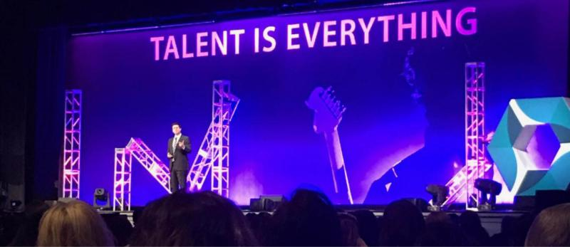 Stage at the SHRM Conference