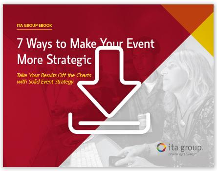 7 Ways to Make Your Event More Strategic Ebook by ITA Group