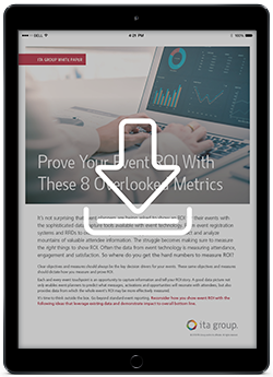 Prove Your Event ROI With These 8 Overlooked Metrics White Paper