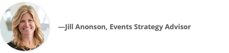 Jill Anonson, Events Strategy Advisor