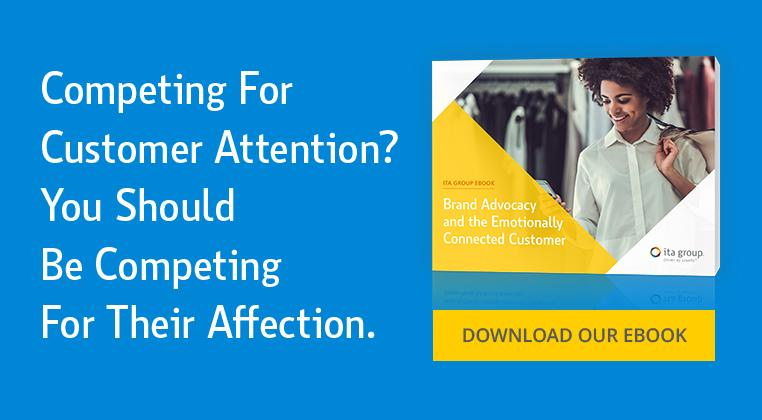 Competing for Customer Attention? You should be competing for their affection.