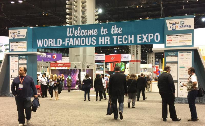 Welcome to the World-Famous HR Tech Expo