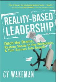 Reality-Based Leadership Book Cover